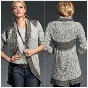 CAbi Shadow Circle Sweater XS